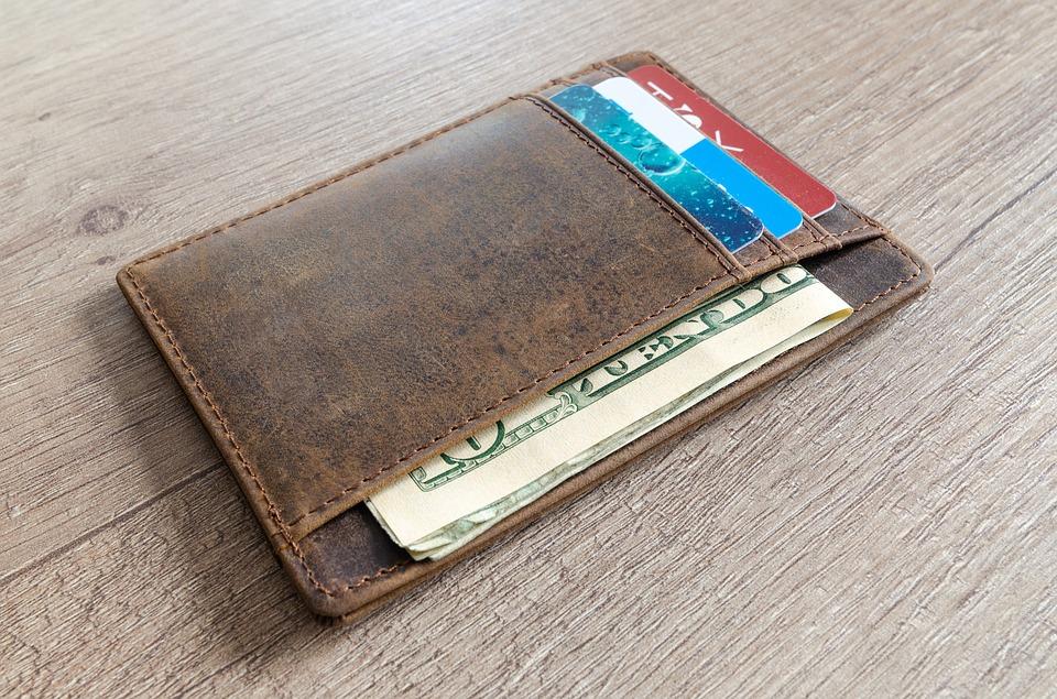 americká peněženka