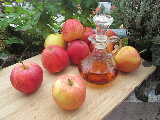 jablka a ocet