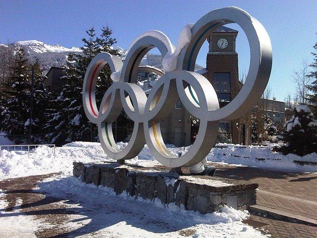 olympijskými kruhy