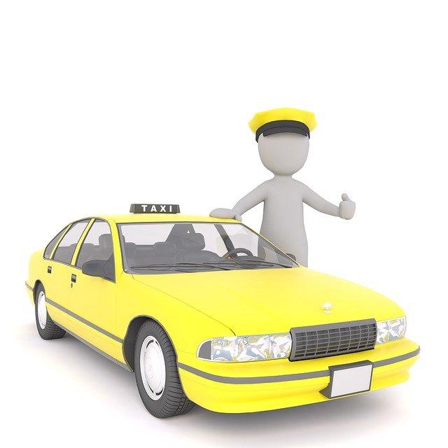 řidič taxiku