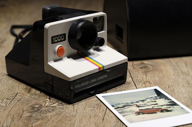 starý polaroid
